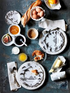 Isn't this a beautiful mess? With every nibble or sip, you take one step further on a charming narrative of English country life.