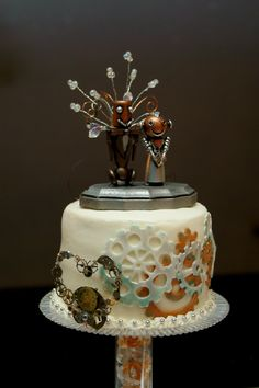 steampunk wedding cake | steampunk wedding cake by gerald the mouse3 photography ...
