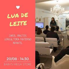 Olá grávidas e recém-mães de Porto Alegre - RS.  Evento GRATUITO dia 20/08 no estacionamento da loja @babysmegastore. Participem!! Serão duas palestras:  Lua de leite ou Dias de neblina - o acolhimento da nova família - com @carol_organiza_mae_bebe consultora materno infantil e  A amamentação na vida real - com @rosane_baldissera consultora internacional em amamentação.  São somente 50 vagas e as inscrições são gratuitas !!  Venha participar!! Maiores informações e inscrições diretamente na…