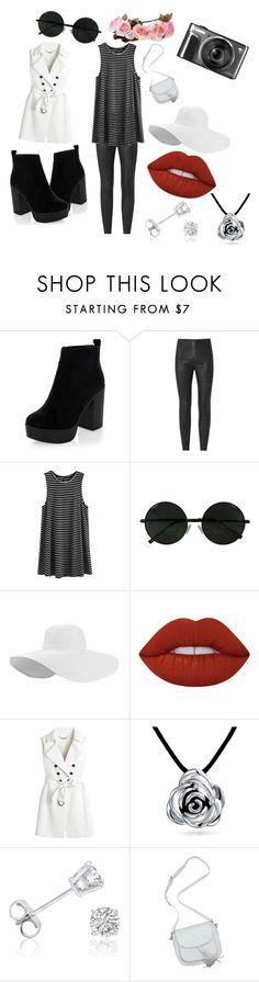"""Untitled #17"" by mikicaajla ❤ liked on Polyvore featuring New Look, Lime Crime, White House Black Market, Bling Jewelry and Amanda Rose Collection"