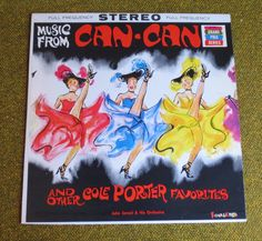 vinyl record  Music from Can-Can and other by BigfootCountryTrader