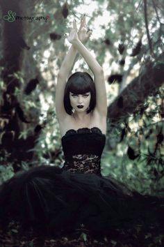 Gothic Model Angelica Kotiar