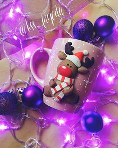cute Rudolph Christmas Mug