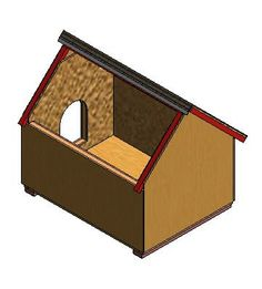 f4bd5bdb91adc9f89ee68437aa57da1a dog house plans dog houses 3x4 dog house with hinged roof for easy access to food, water,Dog House Plans With Hinged Roof
