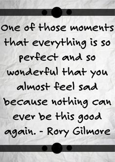 Gilmore Girls Quote