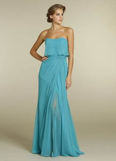 5232 - Jim Hjelm dress - $149 - chiffon - in a different color though?? This dress is so ethereal and pretty