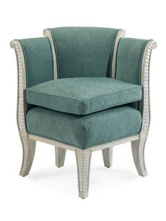 Gilbert Corner Chair by John Richard at Gilt