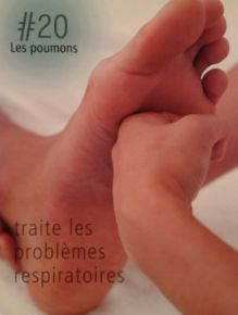 La réflexologie des pieds : Les poumons : traite les problèmes respiratoires