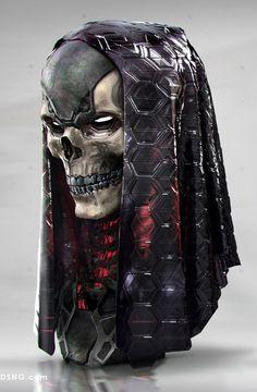 CyberClays — Metal Heads - by jarold Sng Character Concept, Character Art, Concept Art, Dark Fantasy, Fantasy Art, Cyberpunk Kunst, Les Aliens, Arte Ninja, Look Dark