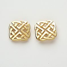 Picture of Celtic Knot Stud Earrings