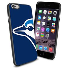 Toronto Blue Jays logo Baseball, Cool iPhone 6 Smartphone Case Cover Collector iPhone TPU Rubber Case Black Phoneaholic http://www.amazon.com/dp/B00U0NRBCW/ref=cm_sw_r_pi_dp_ZWFnvb0H22198