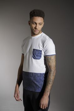 The 'SONG' Tee - £35 - http://www.voijeans.com/blackout/song-tshirt-white.html