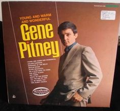 Gene Pitney Lp Young And Warm And Wonderful Near Mint #1960s