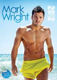 TOWIE star Mark Wright. Shu' uuup!