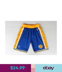 7d47b23c3c1 Athletic Apparel Golden State Warriors Mitchell   Ness Nba Men s Blue Basketball  Shorts  ebay  Fashion