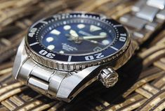 "Review & pictures of the Seiko Prospex Scuba SBDC003 ""Sumo"" watch, 1 of the best affordable Seiko dive watches, & a step above the Monster."