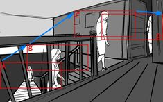 Extended storyboard Shot 9: Walking upstairs. #movies #moviescene #moviescenes #makingmovie #makingfilm #moviemaking #animatics #animation #storyboard #artist #storyboarding #storyboards #drawing #drawings #films #filmdirector #director #filmcrew #filmmaking #filmmaker #preproduction #conceptart #filmproduction #illustrator #illustration Storyboard Film, Storyboard Artist, Animation Storyboard, Film Pictures, Pre Production, Film Director, Illustrations And Posters, Feature Film, Motion Graphics