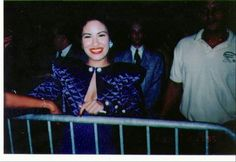 A picture of Selena at the 1995 Tejano Music Awards