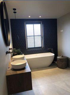 Bathroom Color Schemes, Bathroom Trends, Bathroom Plans, Laundry In Bathroom, Bathroom Design Small, Bathroom Interior Design, Dream Bathrooms, Beautiful Bathrooms, Houston Houses