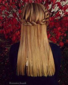 French rope braid by creative.braids that is really pretty and unique