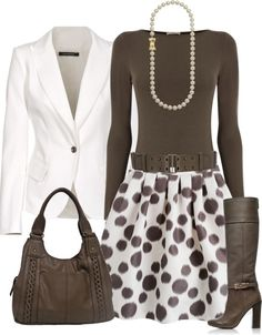 """Circular Reasoning"" by chelseagirlfashion on Polyvore. I like it without the blazer."