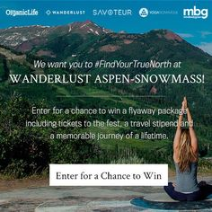 I just entered the Rodale's Organic Life Wanderlust Sweepstakes! NO PURCH NECESSARY. Open to 47 US & DC (excluding AK, HI, MI, PR & CAN), 21+. Ends 6/6/16. See rules at www.Rodalesorganiclife.com/wanderlustsweeps.