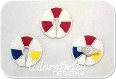 Beach Ball Summer G tube Covers Gtube Pads Shape by AdorabellyDesign on Etsy