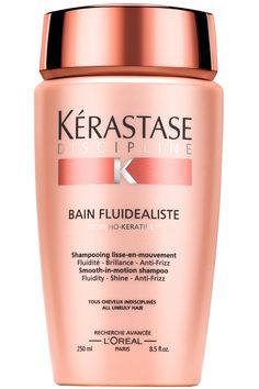 """To protect your hair, a good shampoo and conditioner are critical,"" claims celeb stylist Eva Scrivo. ""They have repairing ingredients such as ceramides and lipids found in facial serums, and they're usually more concentrated, so you don't need as much."" Her picks are Kérastase Paris Bain Fluidealiste and Fondant Fluidealiste. Kérastase Paris Bain Fluidealiste, $39, and Fondant Fluidealist, $42, kerastase-usa.com.  Courtesy  - HarpersBAZAAR.com"