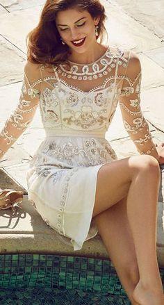 Garden Scatter Dress