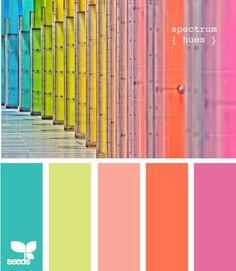 Ice cream rainbow sprinkle colors