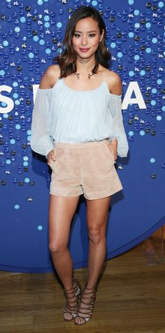 See How Celebrities Wear Their Shorts in Their Teens, 20s, 30s, and 40s - Jamie Chung, 33 from InStyle.com