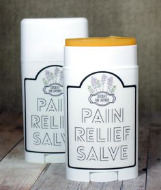 DIY Pain Relief Salve! This homemade chocolate and lavender scented cayenne pain relief salve recipe is wonderful for treating pain caused by arthritis and sore muscles and doesn't smell medicinal.