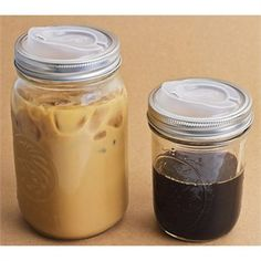 To go lids for Mason jars!