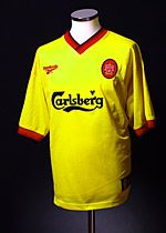 classic 1997-99 Liverpool Away football Shirt XL