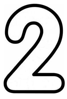 2 rakamı Numbers Preschool, Preschool Lessons, Preschool Art, Numeracy Activities, Writing Activities, Activities For Kids, Number Template Printable, 1st Year Teachers, Abc Coloring Pages