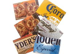 How to Celebrate National Pretzel Day #PretzelDayTip: Repurpose that Snyder's packaging for a fun and functional gift card holder!  They could also hold money, or even business cards!
