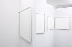 blank gallery #art #gallery #frames #minimalism