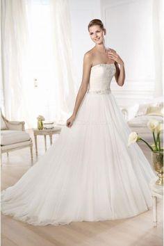 Robe de mariée Pronovias Ordizia 2014 / robe de mariée pronovias pas cher