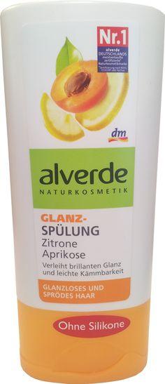 Alverde - Après-shampoing éclat - Citron & Abricot - bio - 200 ml