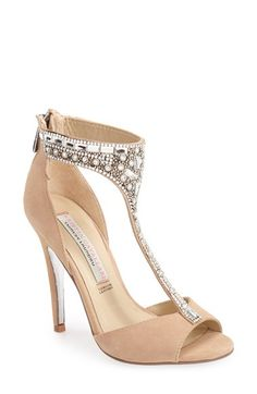Kristin+Cavallari+'Lena'+Crystal+T-Strap+Sandal+(Women)+available+at+#Nordstrom