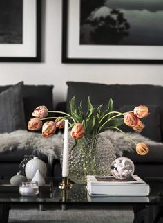 Stylish home with a dramatic touch - via Coco Lapine Design
