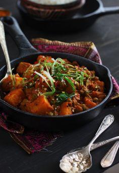 Potato and Pea Coconut Milk Curry | K.O Rasoi Gujarati Recipes