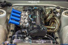 Save by Hermie Crate Motors, Bike Engine, Race Engines, Honda, Ae86, Car Mods, Cute Cars, Japanese Cars, Batmobile