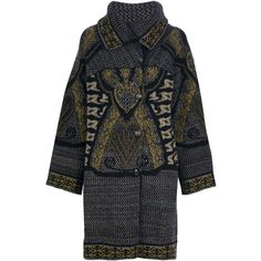 ETRO knitted coat ($1,345) ❤ liked on Polyvore