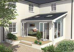 Transform your conservatory with a solid or tiled roof and take advantage of the superior energy saving and sound absorbing qualities.