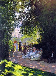 Parc Monceau Claude Monet