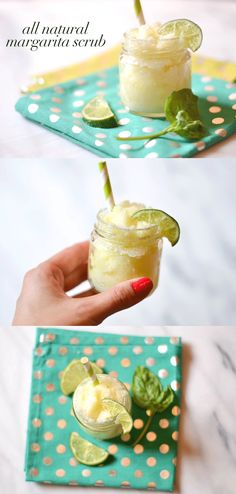 DIY Margarita Salt Scrub Recipe