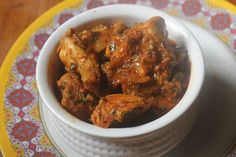 Super fragrant and tasty chicken dish made using methi leaves. This chicken dish taste great with rice, roti, phulka as well. Methi Chicken, Easy Chicken Curry, Easy Chicken Recipes, How To Cook Chicken, Curry Recipes, Spicy, Easy Meals, Cooking Recipes, Tasty