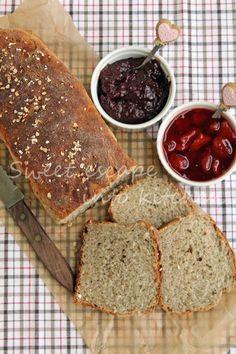 Pełnoziarnisty chleb z płatkami owsianymi