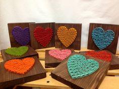 Chaîne Art coeur signer Love rouge par OneRoots sur Etsy